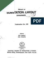 CBIP Manual on Substation Layout Drawings