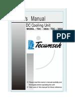 TDC 500A Manual