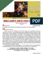 HORA SANTA CON EL PAPA FRANCISCO. La Familia. Los Niños 2 (10)