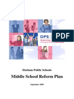 2009 NC Durham PS Middle School Reform