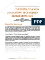 BPO on the Brink of a New Generation Technology Transformation