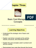 Basic Cost Concepts