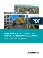 INTERNATIONAL GUIDELINES ON URBAN AND TERRITORIAL PLANNING. Towards a Compendium of Inspiring Practices