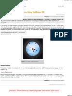 Building a JavaFX Application Using NetBeans IDE