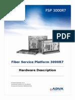 FSP 3000R7 R13.3 Hardware Description IssA
