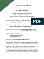 Cuaderno Resúmenes Jornadas Discapacidad y Universidad - UNGS 2014