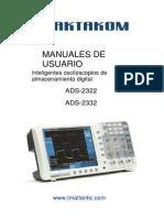 ADS 2322 2332 User Manual.en.Es