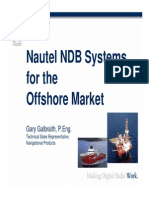 Nautel NDB Systems for the Offshore Market