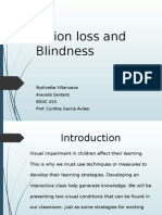 ppt blind and vision loss