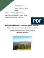 Regulament Soarele Si Planeta Albastraedi Tia Aiva20142015