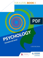 Edexcel Psychology a-Level Sample-Chapter