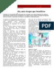 BBC Una Aspirina Al Día, Más Riesgos Que Beneficios. de La Clase 10