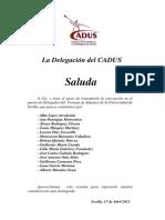 SALUDA Delegados 2014-15