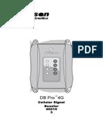 db pro 4g direccional  (460103) - dbpro4g ig manual en es