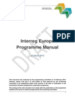 Interreg Europe Programme Manual Draft
