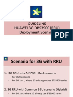 Guideline-huawei 3g Dbs3900 (Rru) Deployment Scenario_xl Project