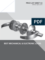 BEST Mechanical & Electronic Locks- 2015 v2