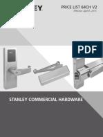 Stanley Commercial Hardware- 2015 v2