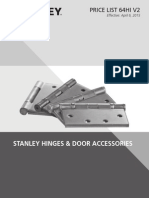 Stanley Hinges and Door Accessories- 2015 v2