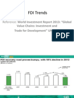 FDI Global Trends 2013