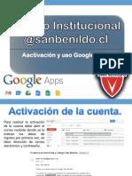 Mini Tutorial para la Activacion Cuenta Google Apps