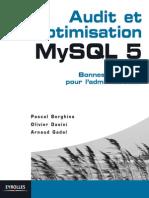 Audit Et Optimisation MySQL 5 Bonnes Pratiques Pour l'Administrateur
