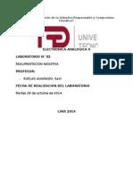 Informe 2 Realimentación Negativa UTP