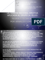 La Terapia Racional Emotiva Aplicada Al Grupo (