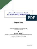Propositions de Jacques Dermagne