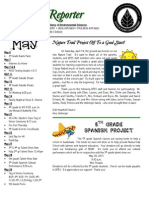 May Cub Reporter Newsletter