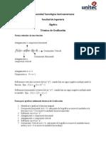 Algebra Tecnicas de Graficacion