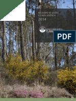 Relatório de Gestão e Conta Gerência 2014