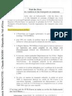 Projets d'infrastructures dans le Val d'Oise par Yanick Paternotte