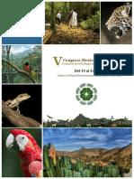 V Congreso Mexicano de Ecología -Programa