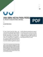 Centro Cultural San Martín - Una Obra Hecha Para Perdurar