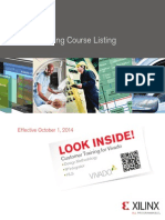 Xilinx Training Courses
