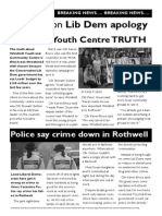 The truth Rothwell Lib Dems do not want you to know