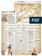 Times of India Interview (Chandigarh Edn 26.04.15 on Sarasvati River