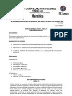 GUÍA DE SISTEMAS DE ECUACIONES 2X2 Y 3X3.pdf