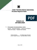 UTN FRD Estabilidad I Capitulo 1