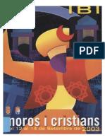 2003 - Libro Oficial de Fiestas de Moros y Cristianos de Ibi