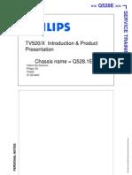 Philips q528e Service Training Manual Part1