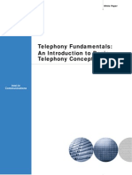 Telephony Concepts Intel