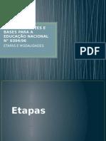 A Lei de Diretrizes e Bases Para a Educação