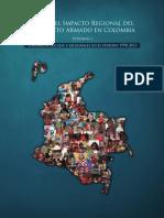 Atlas Del Impacto Regional Del Conflicto Armado en Colombia 1990-2013