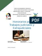 HONORARIOS POR TRABAJOS JUDICIALES Y EXTRAJUDICIALES version corta.docx