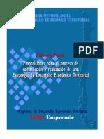 Chile Estrategia de Desarrollo Económico Territorial 2009