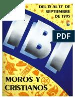 1995 - Libro Oficial de Fiestas de Moros y Cristianos de Ibi