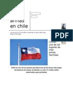 Las Armas en Chile