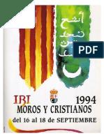 1994 - Libro Oficial de Fiestas de Moros y Cristianos de Ibi